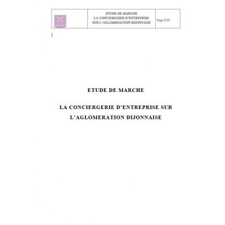 Eude de marché conciergerie entreprise PDF